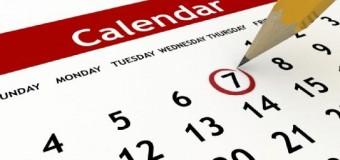 Новостной календарь на ИЮНЬ 2014 года